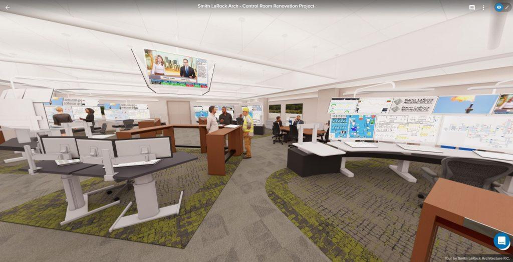 Control Room Renovation Rendering